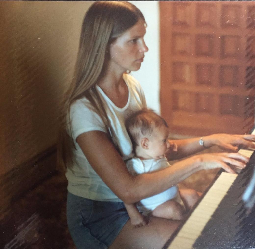 Piano with Newborn