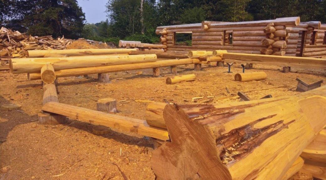 Logs in Canada